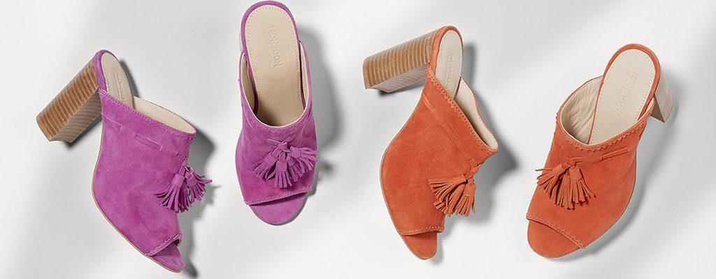 Papuci cu toc gros mediu – 12 modele în tendințe în această vară