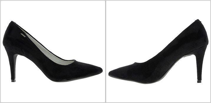 Pantofi Big Star cu toc mediu
