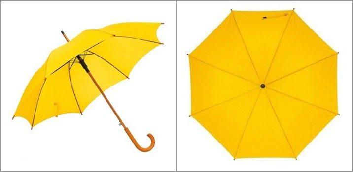 Umbrela Tango automata galbena