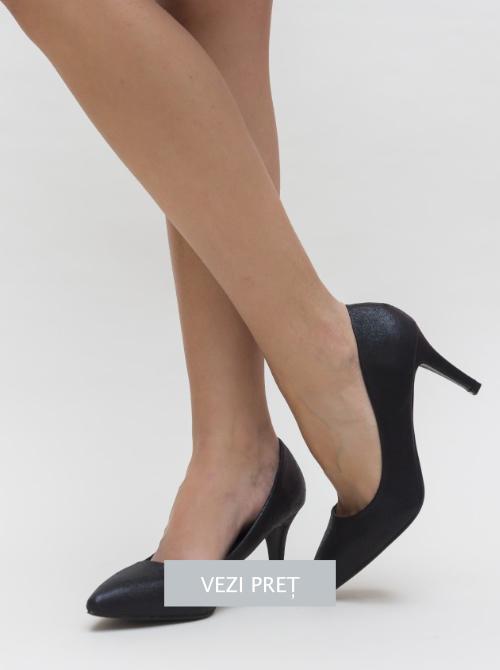 Pantofi Kibiso cu toc mediu