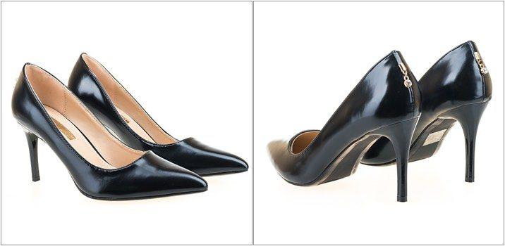 Pantofi stiletto Ame negri