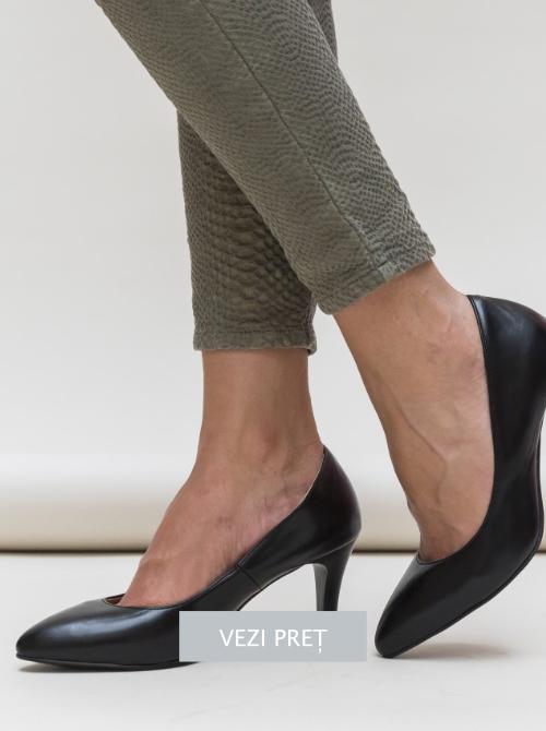 Pantofi Comiz negri