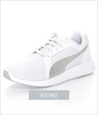 Adidasi albi Puma
