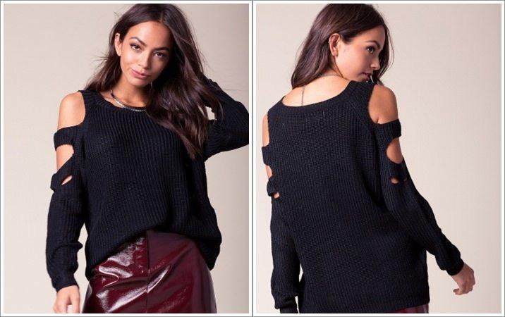 Pulover femei Cheap&Chic Andie negru
