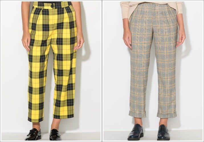Pantaloni cu talie inalta femei Zee Lane