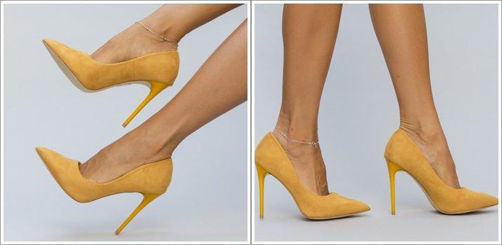pantofi-rico-galbeni