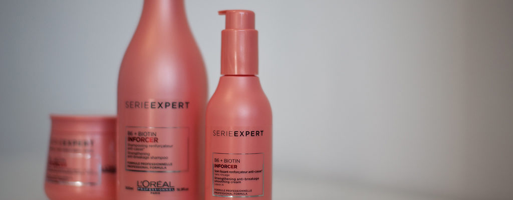 Review: L'Oreal Professionnel B6 Biotin Inforcer – șampon, mască, balsam