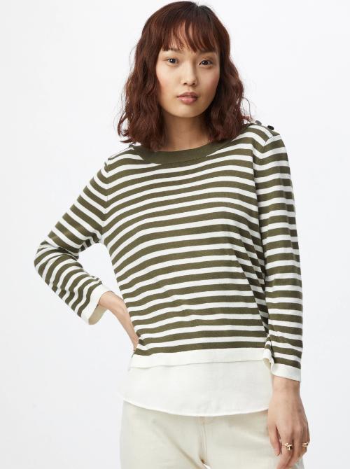 pulover cu dungi Esprit