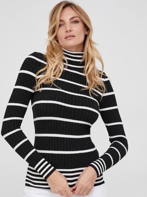 pulover cu dungi Answear Lab